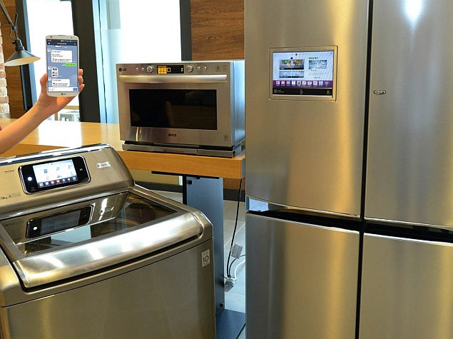 Lg Launches Smart Fridge Oven And Washing Machine You Can