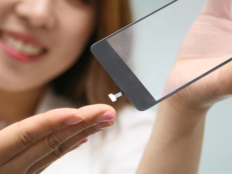 LG Unveils Fingerprint Sensor That Sits Under a Smartphone Display