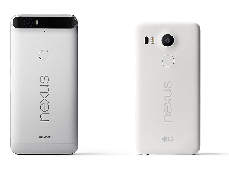 Google Nexus 5X, Nexus 6P Launched: Price, Specifications, and More