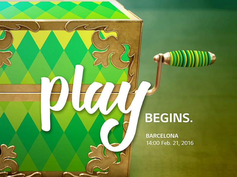 LG Announces 'Play Begins' Event at MWC 2016