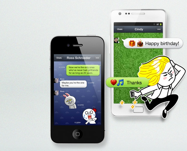 Line messaging app claims to have 300 million users worldwide