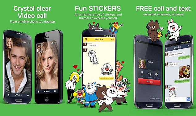 Line announces call out service and user-created stickers market