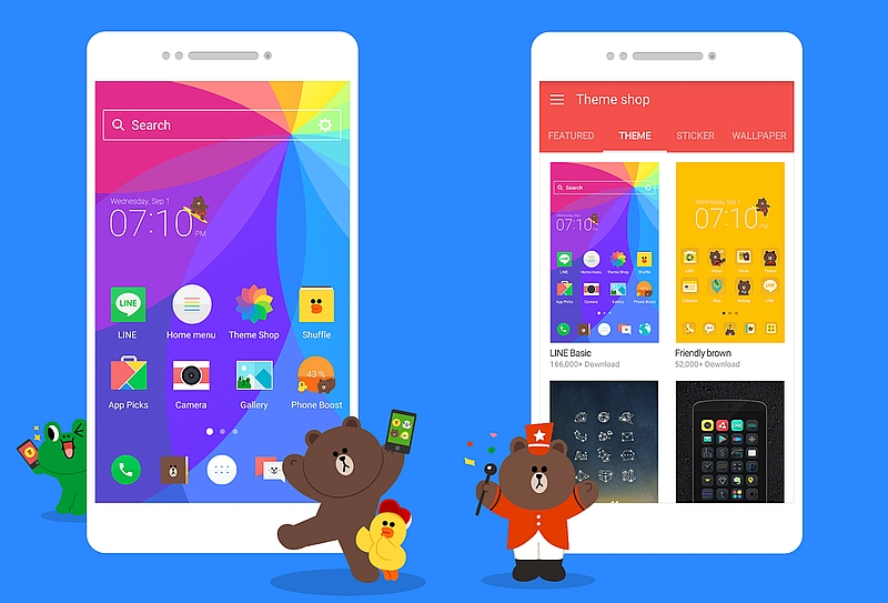 Line Launcher for Android Launched, Focuses on Customisation Features