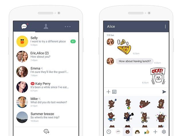 Line Launches 'Lite' Android App for Emerging Markets | Technology News
