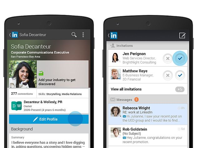 linkedin dating app android Linkedup is like linkedin, but for dating is the appeal of using an app to hook up with someone who worked in hr with your aunt karen at that investment.