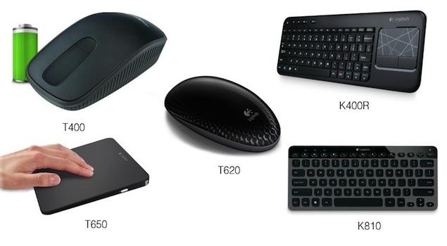 Logitech unveils range of accessories optimised for Windows 8