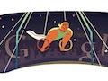 London 2012 artistic gymnastics: The 2nd Google doodle of its kind