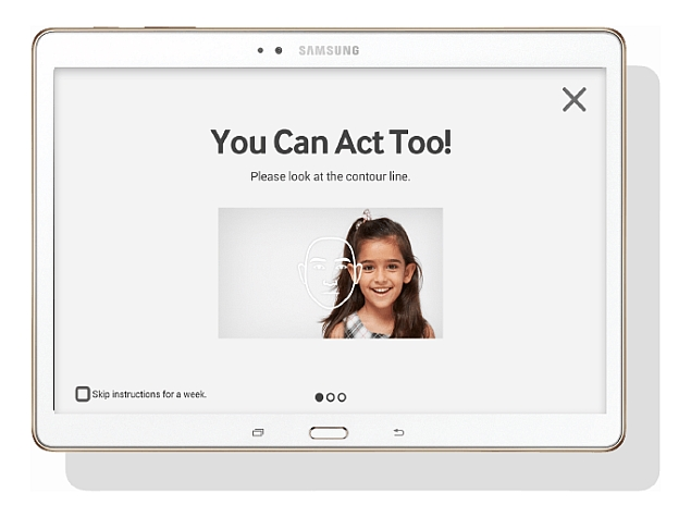 Samsung Unveils 'Look at Me' App to Help Children With Autism
