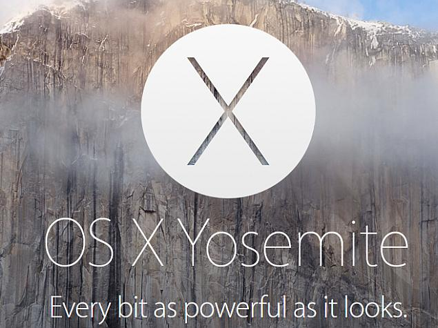 Apple Unveils OS X Yosemite With New Continuity Features and More