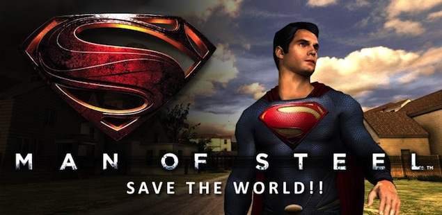 Man Of Steel official game now available for iPhone, iPad, Android