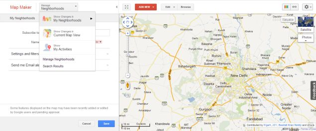 Google Invites India To Help Create Better Maps With Mapathon - Current google maps satellite