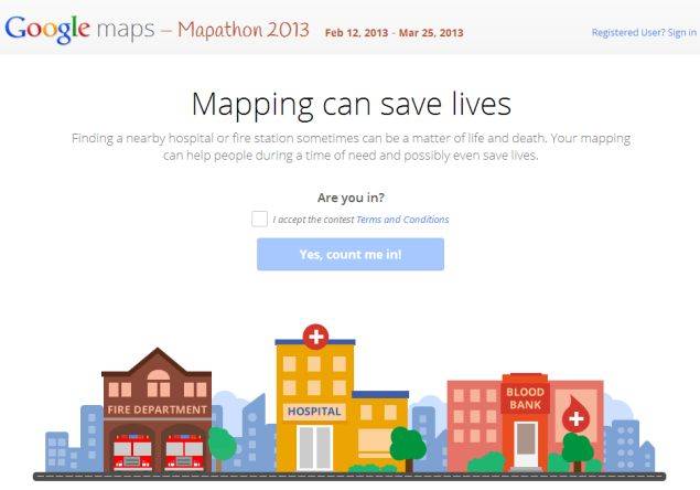 Google invites India to help create better Maps with Mapathon 2013