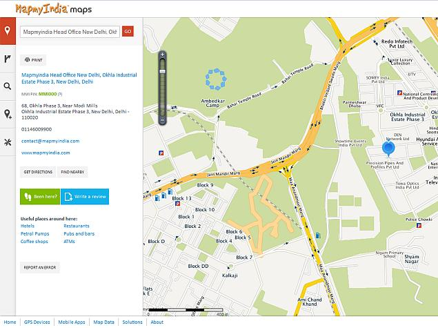 MapmyIndia online maps get new features, visual overhaul