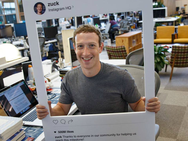Mark Zuckerberg Appears to Put Tape Over His Laptop Webcam