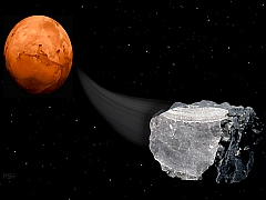 Methane Found on Martian Meteorites Tips Possibility of Life