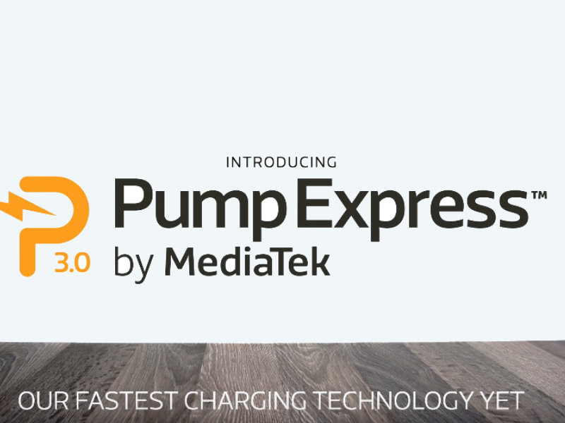 MediaTek Unveils Pump Express 3.0 Smartphone Fast Charging Tech at Computex