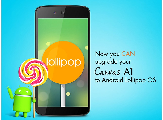 Micromax Canvas A1, Spice Dream Uno Android One Handsets Getting 5.1 Lollipop Update