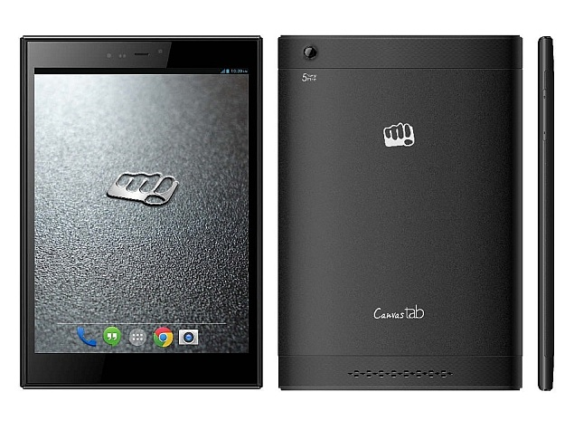 Micromax Canvas Breeze Tab P660 With 3G Support and Voice Calling Launched