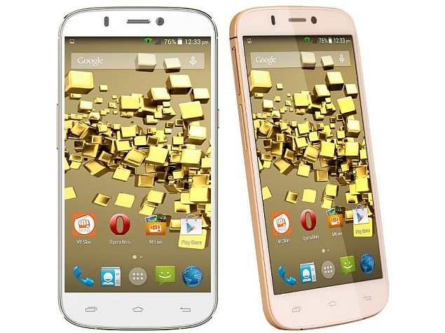 Micromax Canvas Gold A300 With 2GHz Octa-Core SoC Available at Rs. 23,999