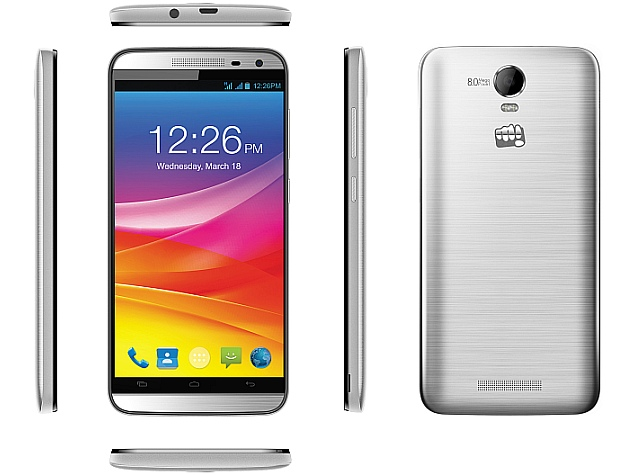 Micromax Canvas Juice 2 With Android 5 0 Lollipop Launched