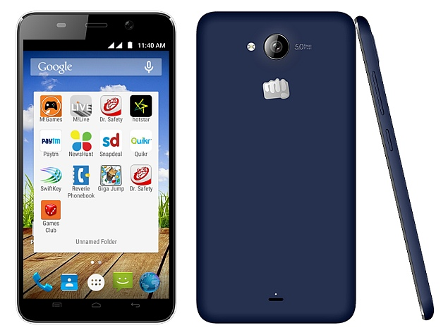 Micromax Canvas Play With Android 5.0 Lollipop Available Online at Rs. 7,490