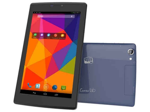 Micromax Canvas Tab P480 Voice-Calling Dual-SIM Tablet Launched at Rs. 6,999
