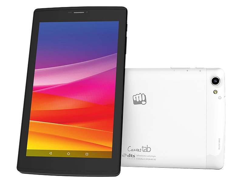 Micromax Canvas Tab P702 With 4G Support Launched at Rs. 7,999