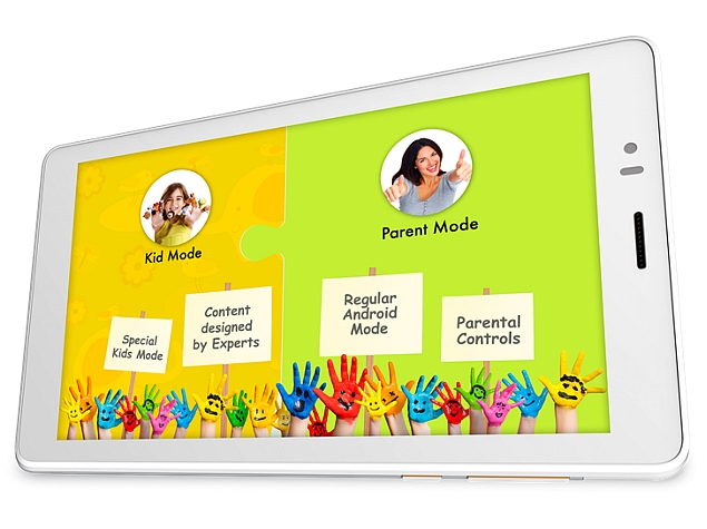 Micromax Canvas Tabby With Kids Mode, Content Launched at Rs. 6,499