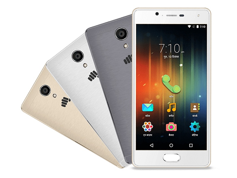 Micromax Unite 4 Plus With Fingerprint Sensor, Regional Languages Support Launched at Rs. 7,999