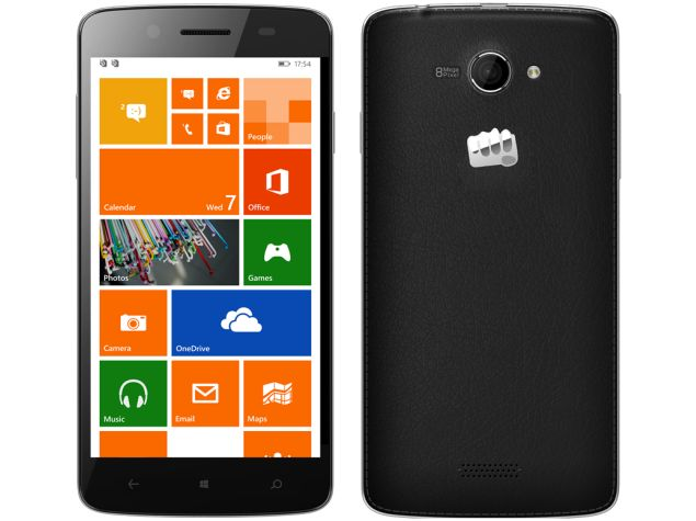 Micromax Canvas Win W092 and Canvas Win W121 Windows Phone Smartphones Launched