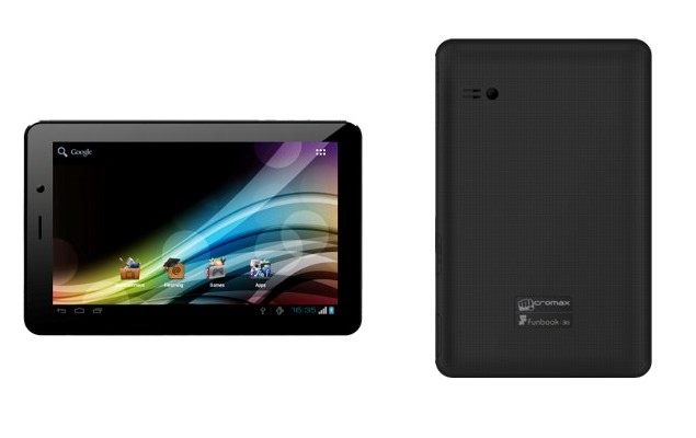 Micromax Funbook 3G P560 tablet with voice calling spotted online for Rs. 8,799