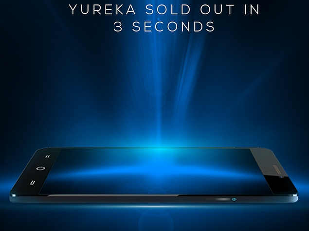 Micromax's Yu Yureka Sale Sees 10,000 Units Go out of Stock in 3 Seconds