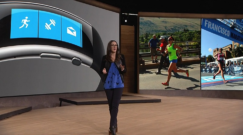 Microsoft Band 2 With Curved Oled Display, Barometer Launched