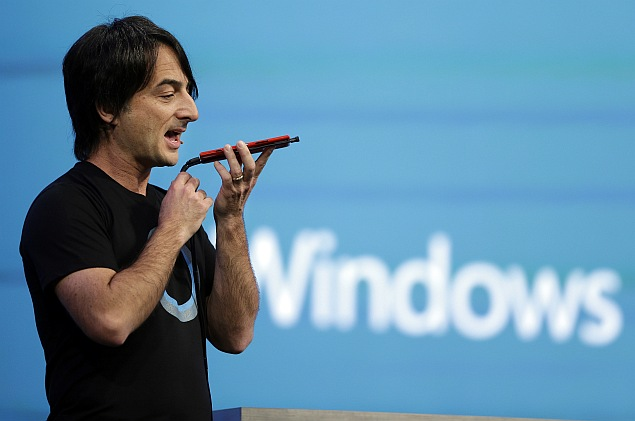 Microsoft unveils 'Cortana' to take on Apple's Siri, Google Now