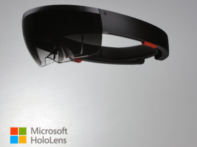 Microsoft Unveils HoloLens Goggles and Windows Holographic UI