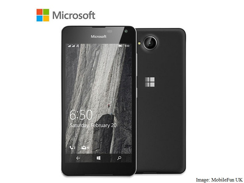Microsoft Lumia 650 Price, Specifications Revealed By Third-Party Listing