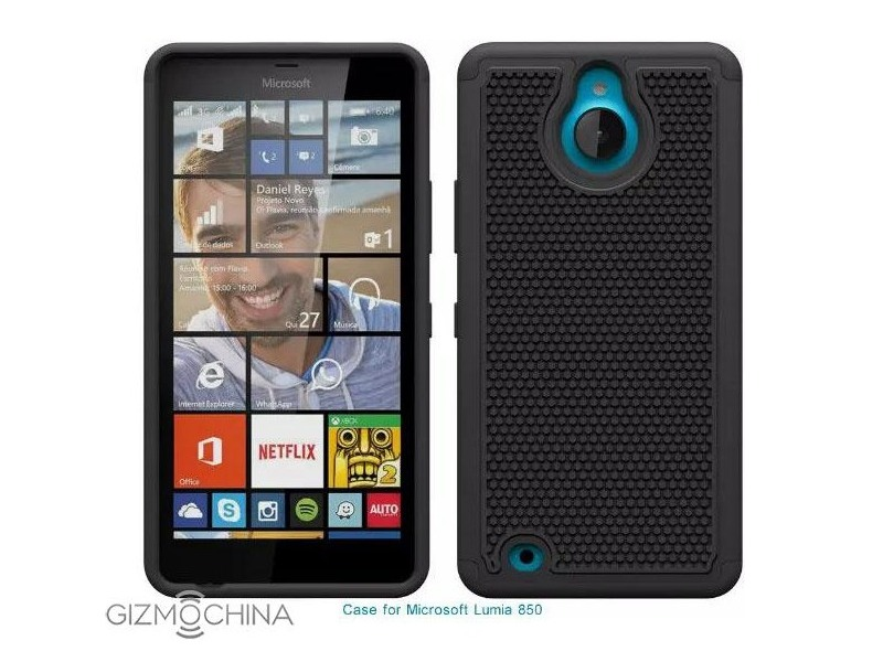 Microsoft Lumia 850 Design Tipped by Leaked Cases