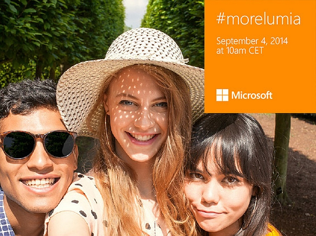 Microsoft Lumia 730 Teased With Selfie Ahead of September 4 Launch