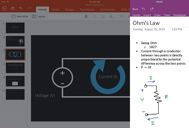 how to work on powerpoint simultaneously