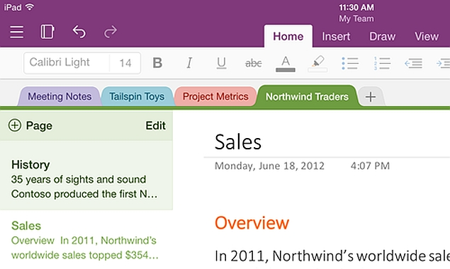 how to change section to another notebook in onenote