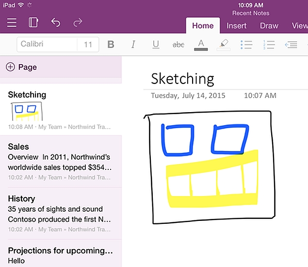 Microsoft Launches Universal OneNote App for iOS, New ...