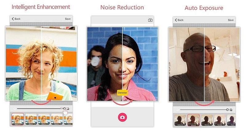 Microsoft Selfie App for iOS Updated With New Features and Interface