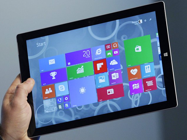 Microsoft Unveils Surface Pro 3 With 12-Inch 2160x1440 Pixel Display