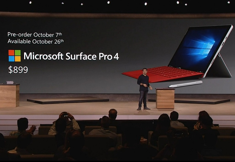 Microsoft Surface Pro 4 and Surface Book With Windows 10 Launched