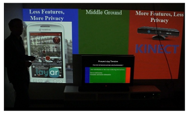 Microsoft details SurroundWeb concept for displaying content across a room