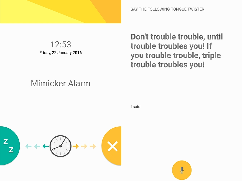 Microsoft Mimicker Alarm App Launched for Android
