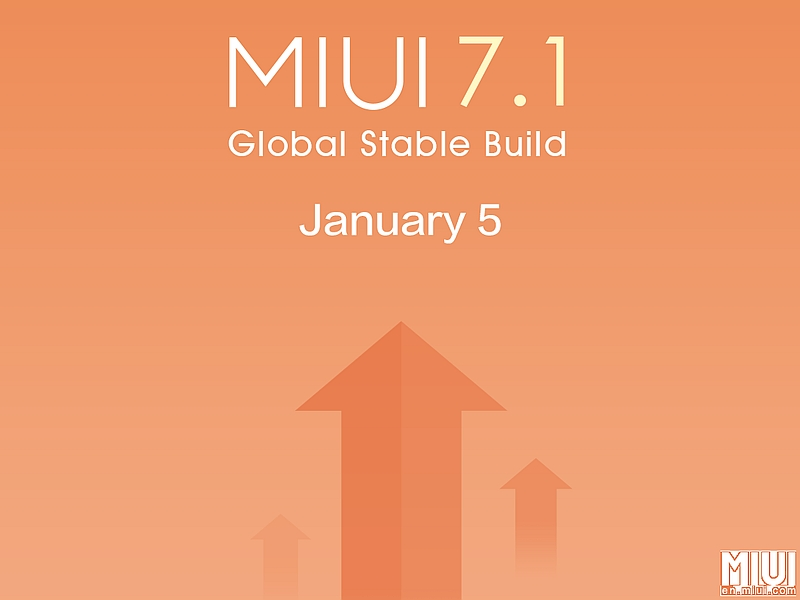 Xiaomi MIUI 7.1 Global Stable Build Rollout Begins for Eligible Devices