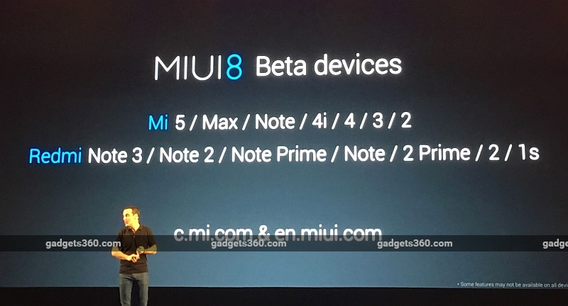 MIUI 8 Release Date, Devices, Download Details Announced
