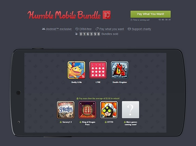 Humble Mobile Bundle 10 for Android Lets Gamers Pay What They Want