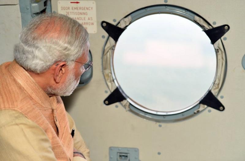 PIB Regrets 'Merging' Images of PM Modi Visiting Flood-Hit Chennai